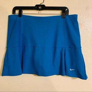 Nike FITDRY Golf Tennis Skirt Turquoise Large